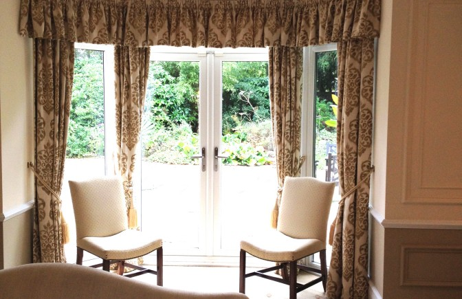 Dress Curtains and Pelmet for Conference Centre