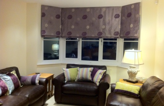 ROMAN BLINDS AND CUSIONS